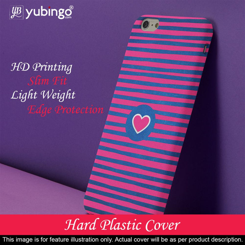 Trendy Heart Back Cover for Motorola One Power (P30 Note)