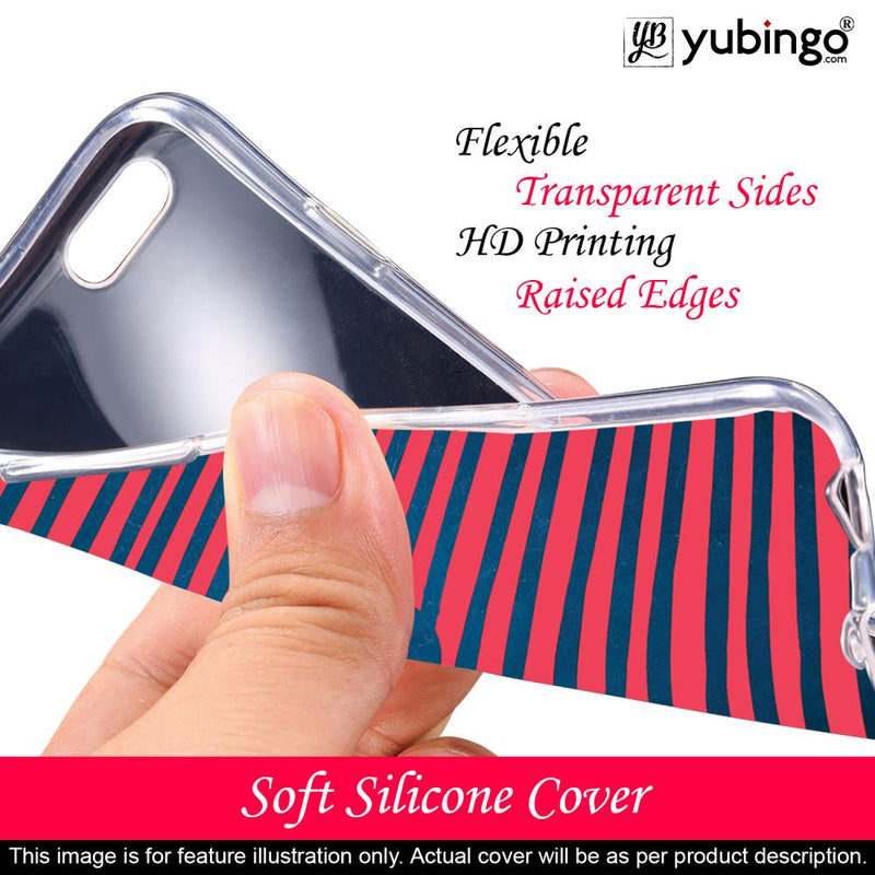 Trendy Heart Back Cover for YU Ace