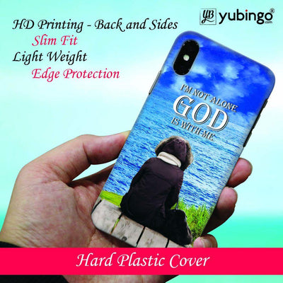 God is with Me Back Cover for Apple iPhone X