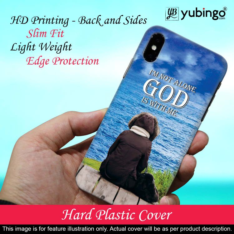 God is with Me Back Cover for Xiaomi Redmi Note 8