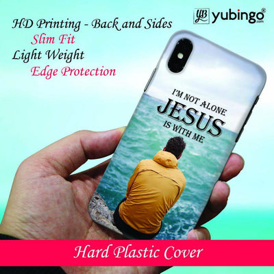 Jesus is with Me Back Cover for Apple iPhone X