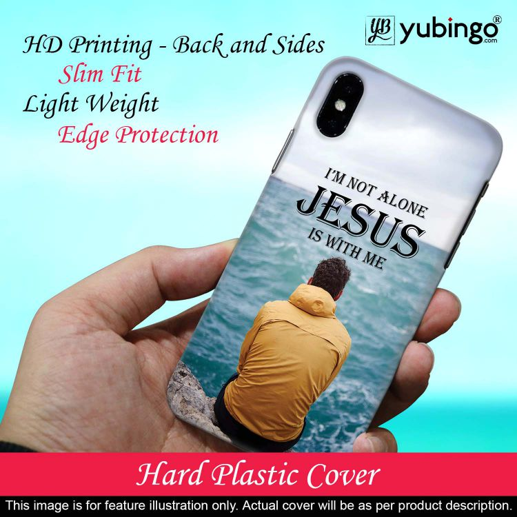 Jesus is with Me Back Cover for Oppo A5 (2020)