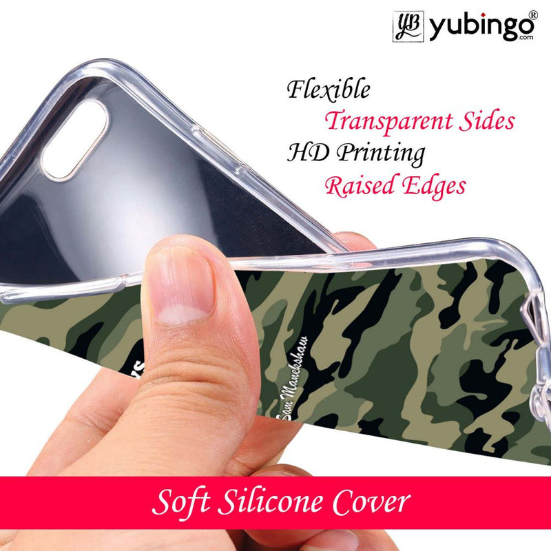 Indian Army Quote Back Cover for LG V30 Plus