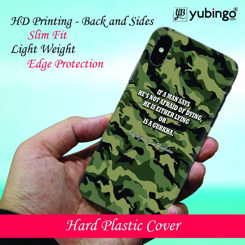 Indian Army Quote Back Cover for Apple iPhone 8 Plus