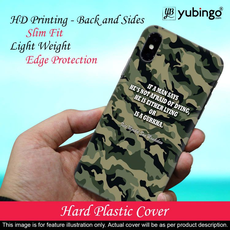 Indian Army Quote Back Cover for Huawei Y9 (2019)