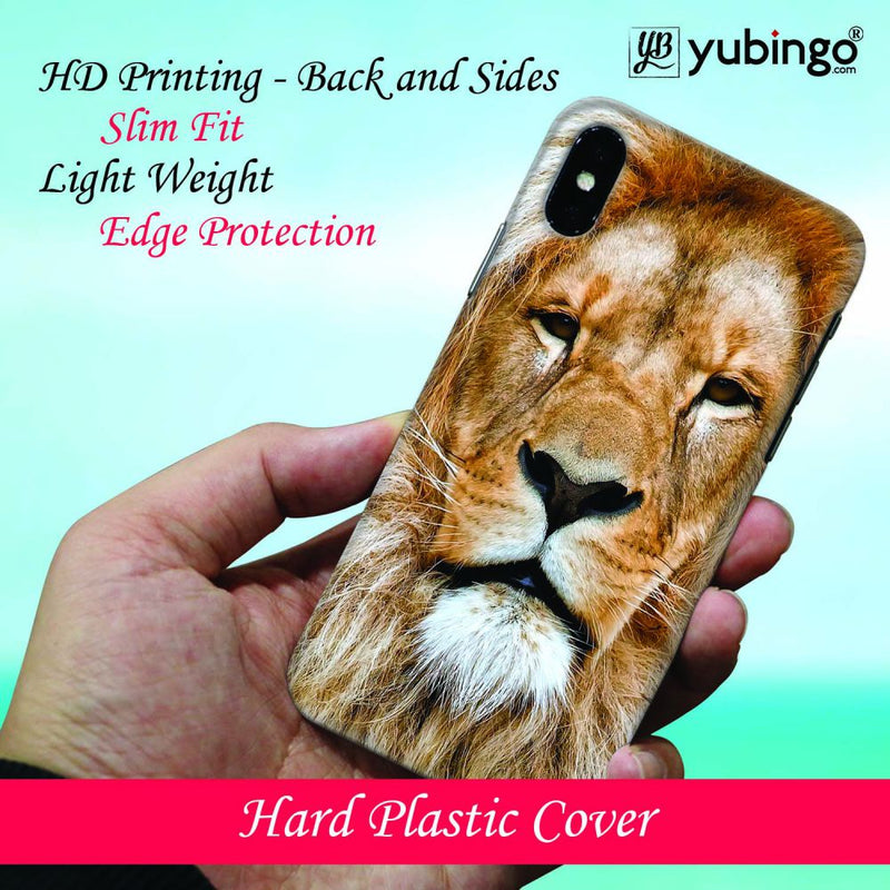 Portrait of Lion Back Cover for Oppo A7
