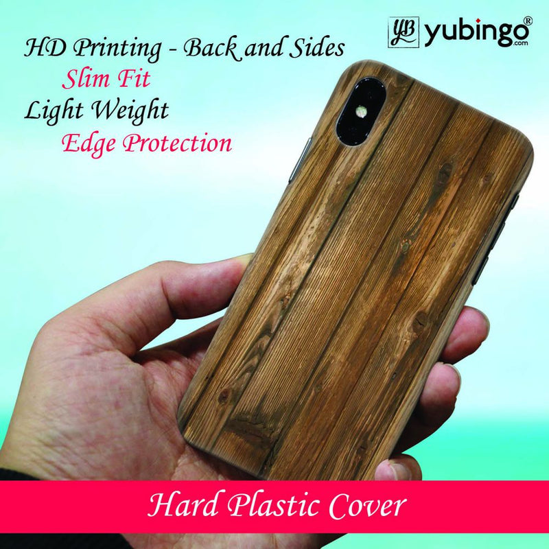 Wooden Pattern Back Cover for Apple iPhone 8 Plus
