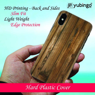 Wooden Pattern Back Cover for Apple iPhone X-Image3