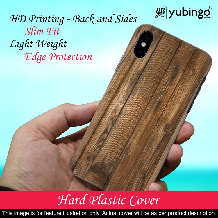 Wooden Pattern Back Cover for Huawei Y9 (2019)