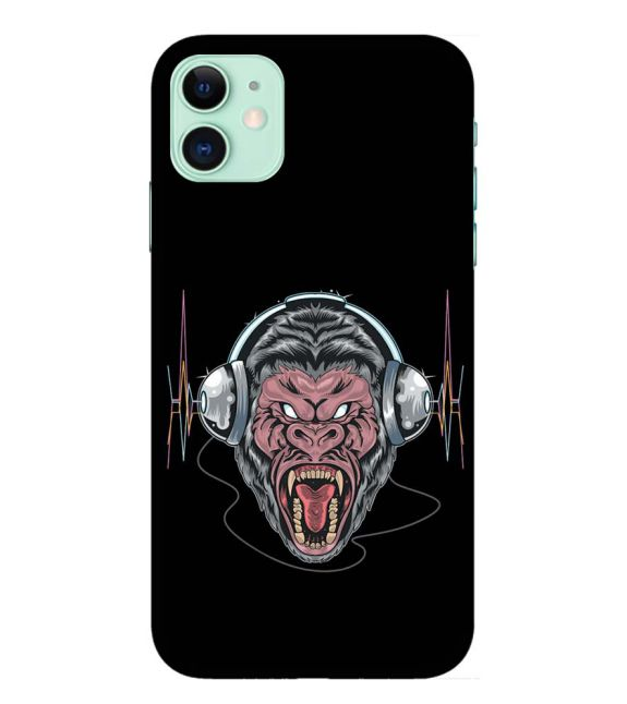 Angry Monkey Back Cover for Apple iPhone 11