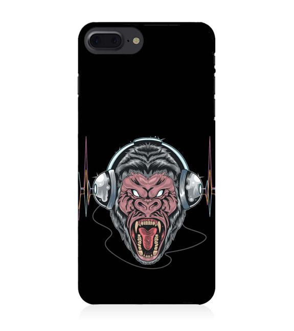 Angry Monkey Back Cover for Apple iPhone 8 Plus