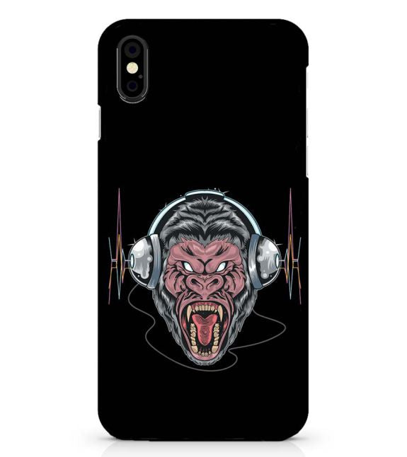 Angry Monkey Back Cover for Apple iPhone X
