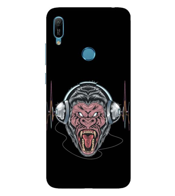 Angry Monkey Back Cover for Huawei Y6 Prime (2019)