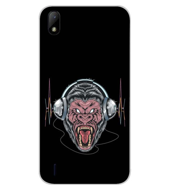 Angry Monkey Back Cover for Lava Z41