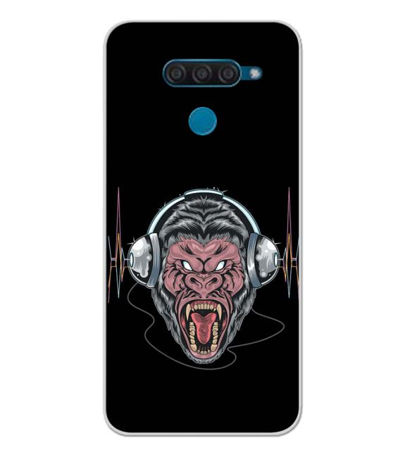 Angry Monkey Back Cover for LG Q60
