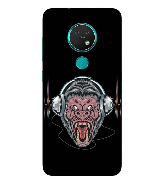 Angry Monkey Back Cover for Nokia 6.2