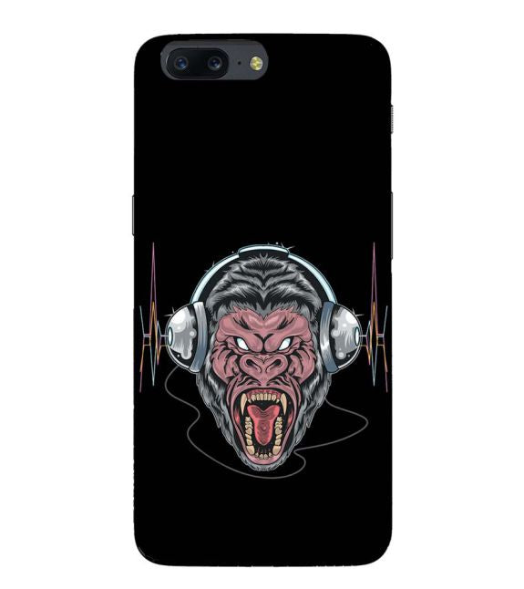 Angry Monkey Back Cover for OnePlus 5