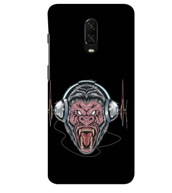 Angry Monkey Back Cover for OnePlus 6T