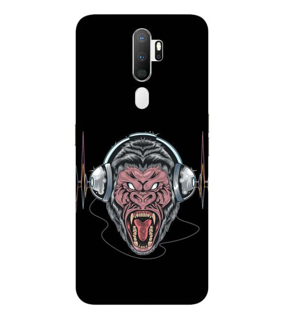 Angry Monkey Back Cover for Oppo A9 (2020)