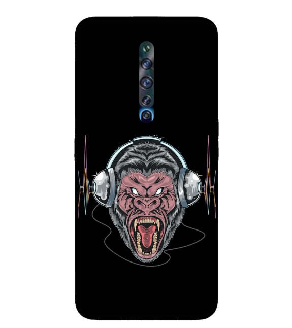 Angry Monkey Back Cover for Oppo Reno2 Z