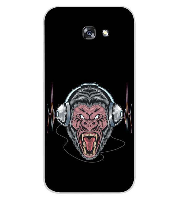 Angry Monkey Back Cover for Samsung Galaxy A7 (2017)