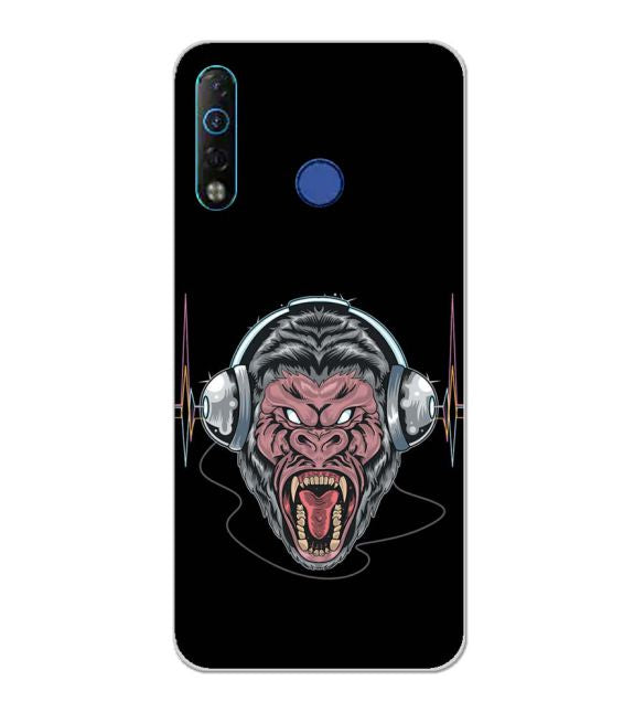 Angry Monkey Back Cover for Tecno Camon 12 Air