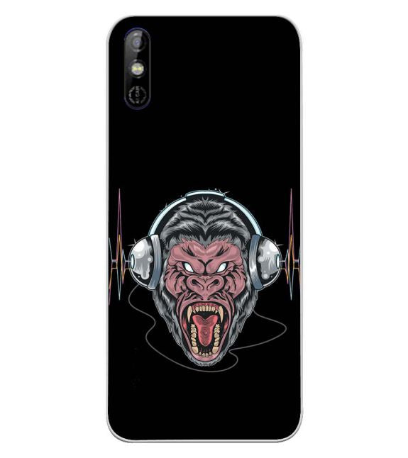Angry Monkey Back Cover for Tecno Spark Go