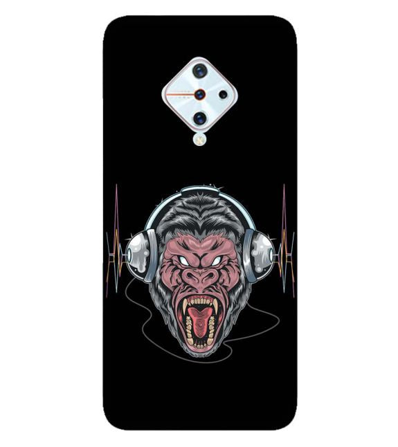 Angry Monkey Back Cover for Vivo S1 Pro
