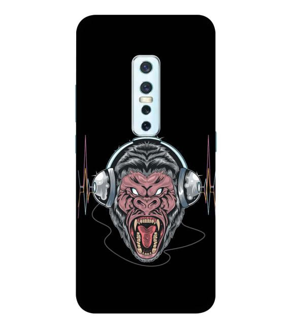 Angry Monkey Back Cover for Vivo V17 Pro