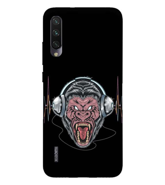 Angry Monkey Back Cover for Xiaomi Mi A3