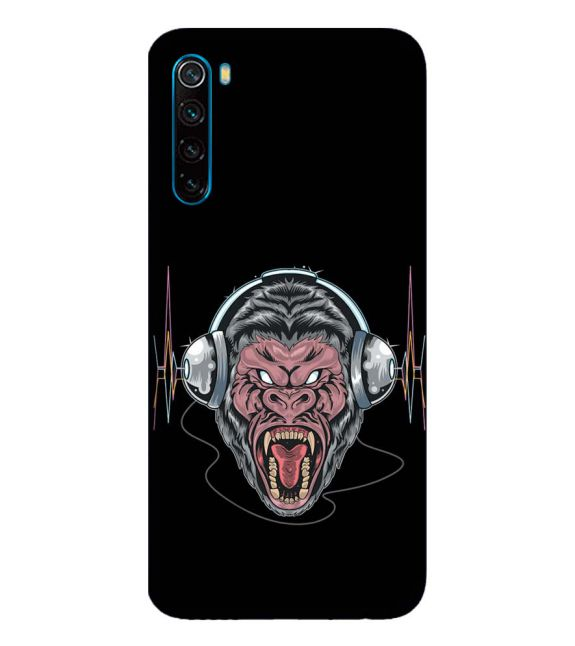 Angry Monkey Back Cover for Xiaomi Redmi Note 8