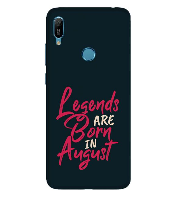 August Legends Back Cover for Huawei Y6 Prime (2019)