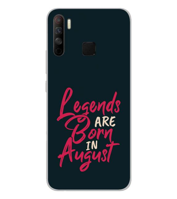 August Legends Back Cover for Infinix S5 Lite