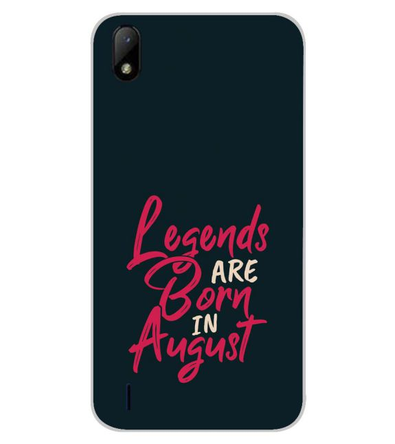 August Legends Back Cover for Lava Z41