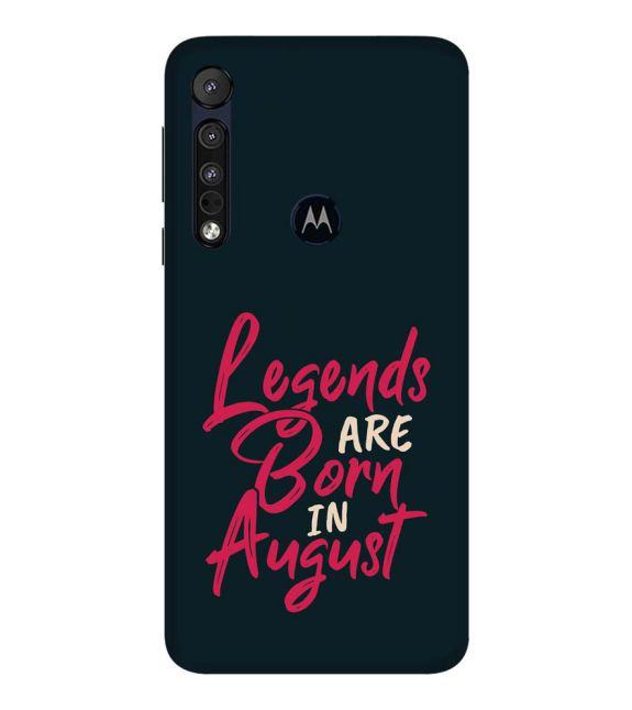 August Legends Back Cover for Motorola One Macro