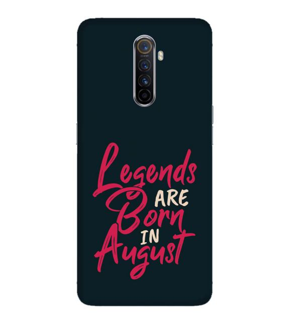 August Legends Back Cover for Oppo Reno Ace