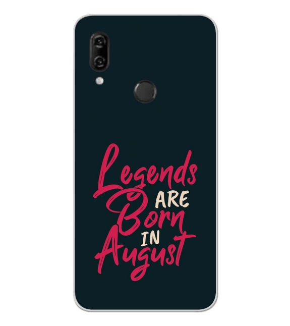 August Legends Back Cover for Panasonic Eluga Ray 810