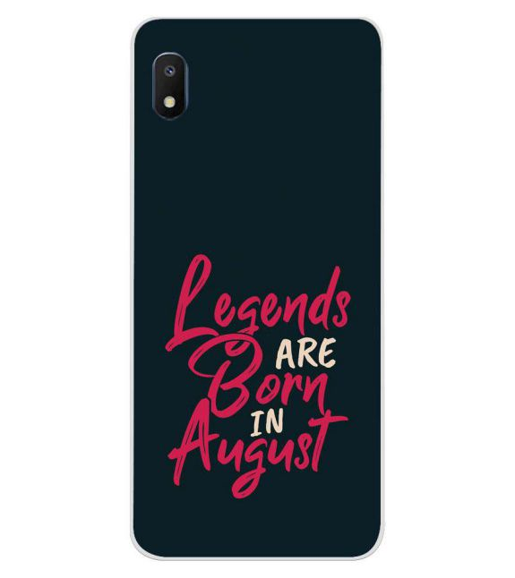 August Legends Back Cover for Samsung Galaxy A10e
