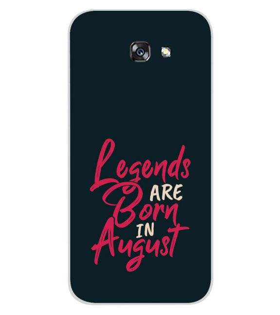 August Legends Back Cover for Samsung Galaxy A7 (2017)