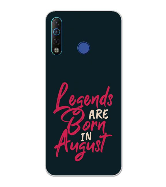 August Legends Back Cover for Tecno Camon 12 Air