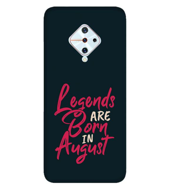 August Legends Back Cover for Vivo S1 Pro