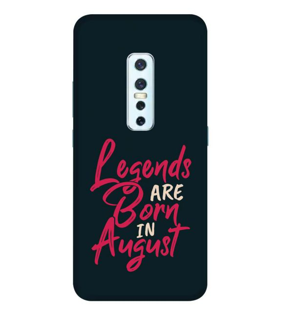 August Legends Back Cover for Vivo V17 Pro