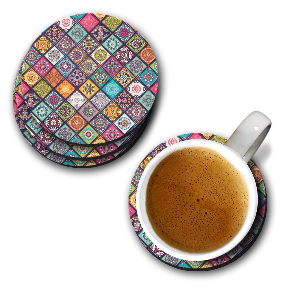 Beautiful Mandala Pattern Coasters