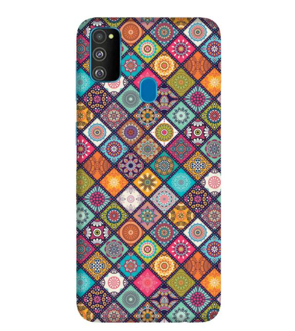 Beautiful Mandala Pattern Back Cover for Samsung Galaxy M30s