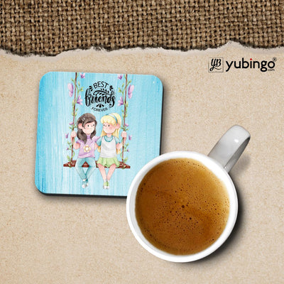 Best Friends Forever Coffee Mug with Coaster and Keychain-Image3