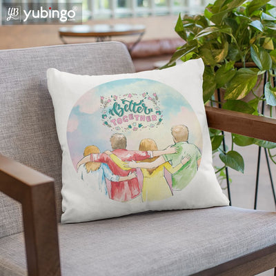 Better Together Cushion, Coffee Mug with Coaster and Keychain-Image2