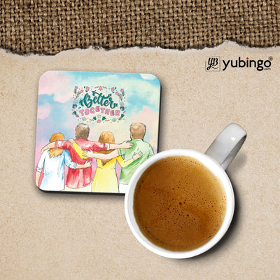 Better Together Cushion, Coffee Mug with Coaster and Keychain-Image4