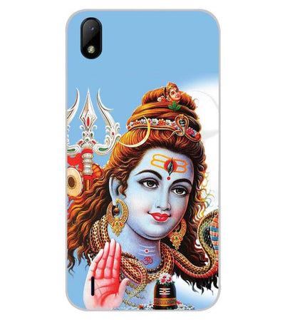 Bhagwan Shiv Back Cover for Lava Z41