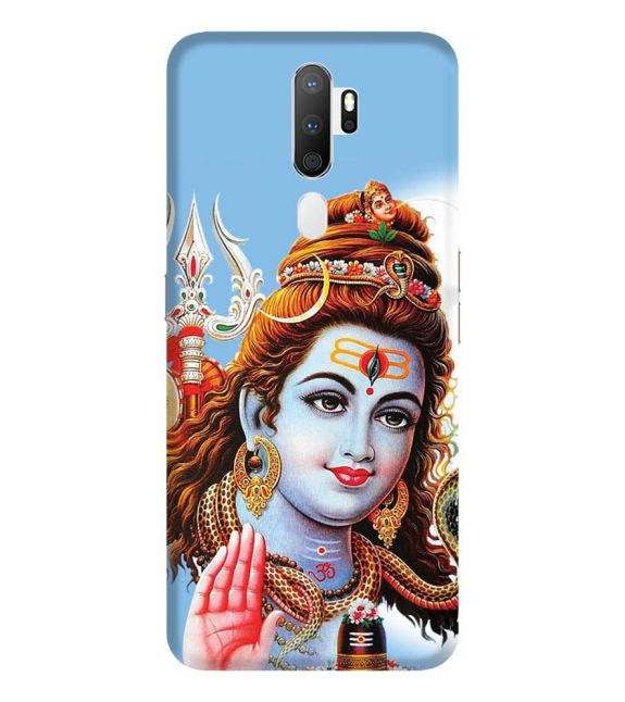 Bhagwan Shiv Back Cover for Oppo A5 (2020)