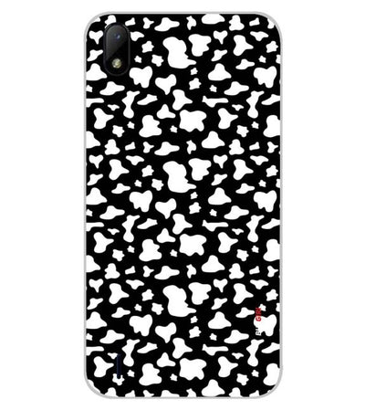 Black And White Pattern Back Cover for Lava Z41